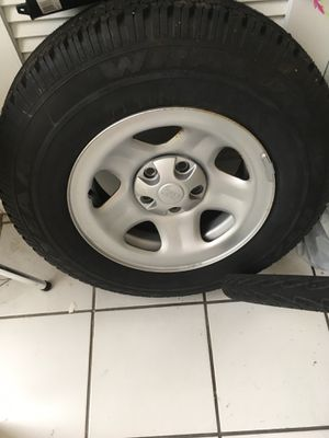 Jeep Wrangler TJ spare tire or trailer for Sale in Boca Raton, FL