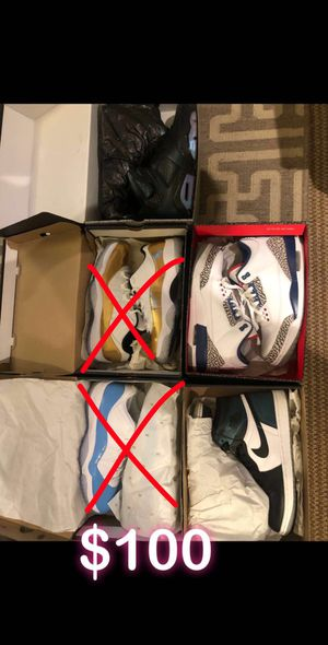 Size 9.5 10 and 10.5 shoes for Sale in Portland, OR