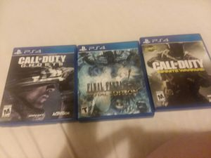 Ps4 games for Sale in Aberdeen, WA
