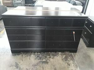 Ashley 6 draw dresser for Sale in Sacramento, CA