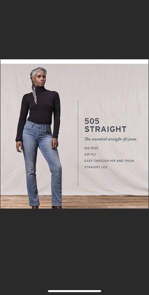 Levi's Women Size 16 Medium 505 Straight Jeans for Sale in Nashville, TN