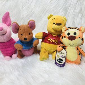 Disney Pooh Bear Plush Lot Roo Tigger Piglet Pooh Bear for Sale in Largo, FL