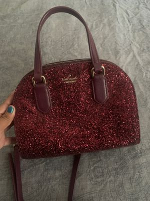 Kate Spade Sparkly Maroon Bag for Sale in Phoenix, AZ