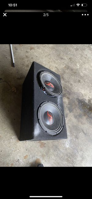 Punch Z Speakers 12 inch for Sale in Tacoma, WA