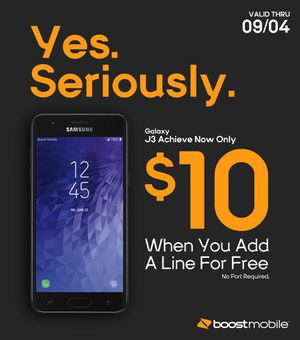 Get the New J3 Achieve for only $10 for Sale in Chapel Hill, NC