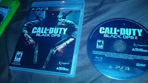 Call of duty black ops 1 and 2 ps3 for Sale in Lakeland, FL