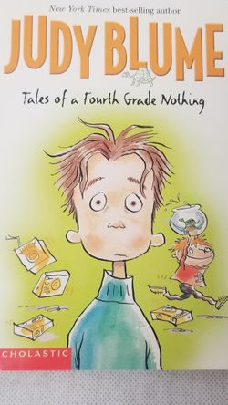 Judy Blume Tales Of A Fourth Grade Nothing paperback novel youth 1972 2003 EUC for Sale in Phoenix,  AZ