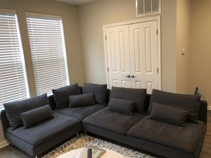 IKEA Soderhamn sectional with covers $600 for Sale in Trenton, NJ