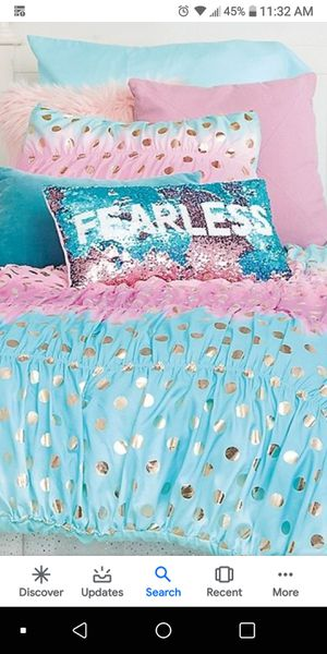 Justice ombre foil twin bedset for Sale in Wyandotte, MI