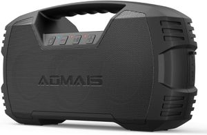 Aomais Go Bluetooth speaker 40h play time 10,000 mah BT 5.0 2020 update for Sale in San Diego, CA