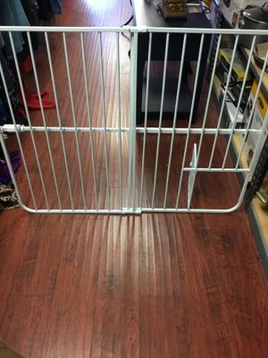 Small pets gate new in box opening up to 36 inches wide for Sale in Los Angeles, CA