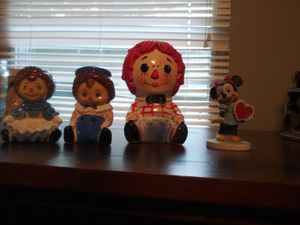 Raggedy Ann and Andy lot for Sale in Greenville, SC