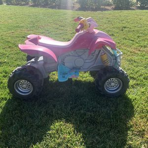 Boys And Girls Power Wheel Quads for Sale in Riverside, CA