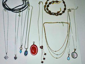Gemstone necklaces, earrings, bracelets & rings, 30+ pieces for Sale in Garner, NC