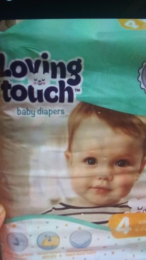 Huggies and baby wipes or loving touch for Sale in Oakland, CA