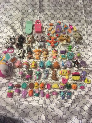 Pet shop,shopkins and other figures for Sale in Tacoma, WA