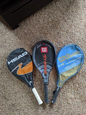 Tennis racket x 3 for Sale in Sequim, WA