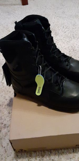 """Reebok Sublite Tactical Waterproof 8"""" Boots With Side Zipper. Mens 11 for Sale in Lewisville, TX"""