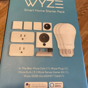 New Wyze camera starter pack / security / ring doorbell / Ecobee / nest / google for Sale in Bridgeview, IL