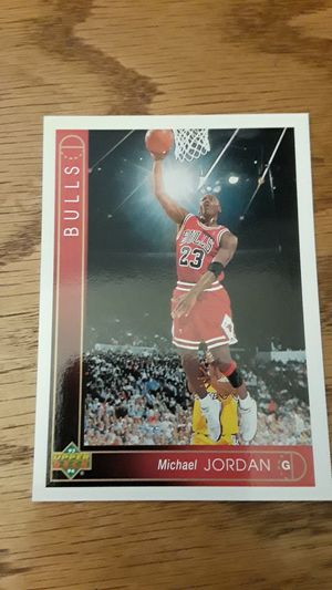 Michael Jordan basketball card for Sale in San Leandro, CA