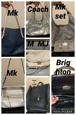 $10 each bag some need cleaning or they show some wear $10 for Sale in Fort Worth, TX