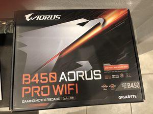 B450 AORUS PRO Wi-Fi Motherboard for Sale in Lathrop, CA