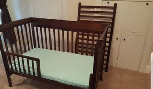 Crib, changing table, NEW Sealy mattress for Sale in Auburndale, FL