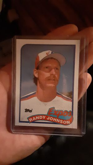 1989 topps #647 Randy Johnson rookie card (new) for Sale in North Little Rock, AR