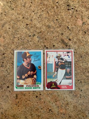 Vintage Ozzie Smith Baseball cards for Sale in Claremont, CA