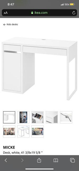 Vanity desk ikea for Sale in Beaverton, OR