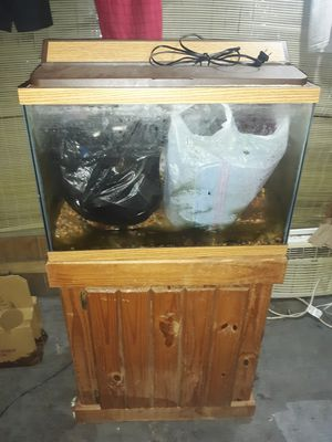 Free aquarium with stand for Sale in St. Petersburg, FL