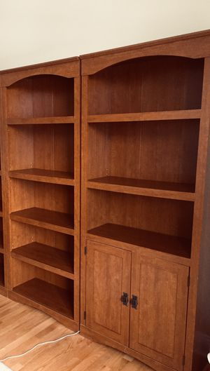 Sauder 5-Shelf Bookcases & Library With Doors for Sale in West Chicago, IL