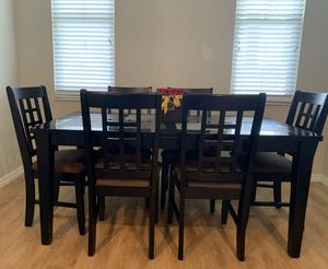 Dining Set 6 chairs for Sale in Davie, FL