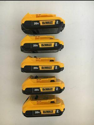 Dewalt 2.0 Batteries $35 each for Sale in Fullerton, CA