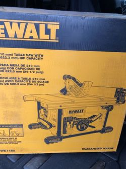 """NEW Dewalt 8-1/4"""" (210mm) Table Saw With 24-1/2"""" (622.3mm) RIP Capacity for Sale in Staten Island,  NY"""
