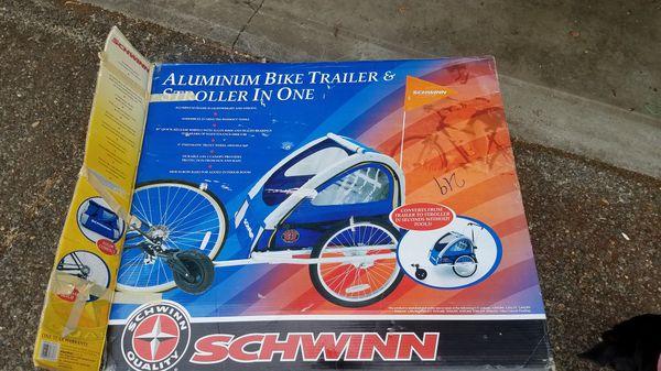 Schwinn 2 child bike stroller, jogging stroller