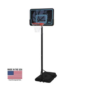 Lifetime adjustable portable basketball hoop 44 inch impact for Sale in Austin, TX