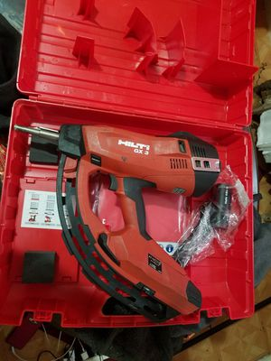 HILTI GX 3 GAS POWERED ACTUATED NAILS GUN for Sale in New York, NY