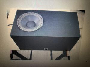 """Subwoofer enclosure with 12"""" for Sale in Las Vegas, NV"""
