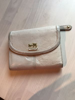 Coach off white wallet-tons of storage for Sale in Nashville, TN