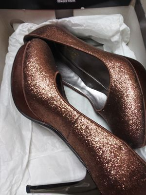 Golden brown high heels for Sale in Lithia Springs, GA