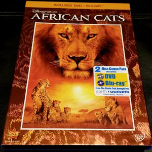 Disney BluRay/DVD African Cats for Sale in Marysville, WA