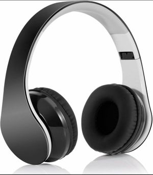 Bluetooth Headphones Wireless Headset Over Ear - Foldable Hi-Fi Stereo Headset with Built-in Mic for Sale in Fontana, CA