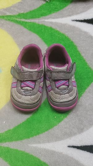 """Silver, Teal & Purple size 4 Aida """"Surprize"""" by Stride Rite for Sale in Ontario, CA"""