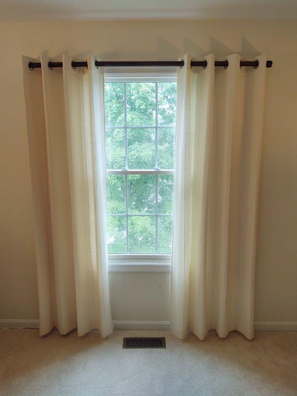 Light Filtering Window Curtain Panels