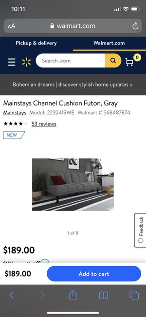 FUTON $189 for Sale in Silver Spring, MD