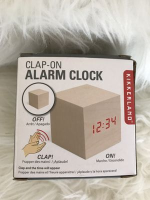 Clap-On Alarm Clock by Kikkerland for Sale in Mentor, OH