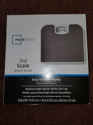Mainstays Dial Scale for Sale in Arlington, VA
