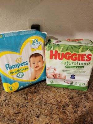 Wipes an diapers for Sale in Glendale, AZ