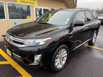 2012 Toyota Highlander Hybrid for Sale in Federal Way ,  WA